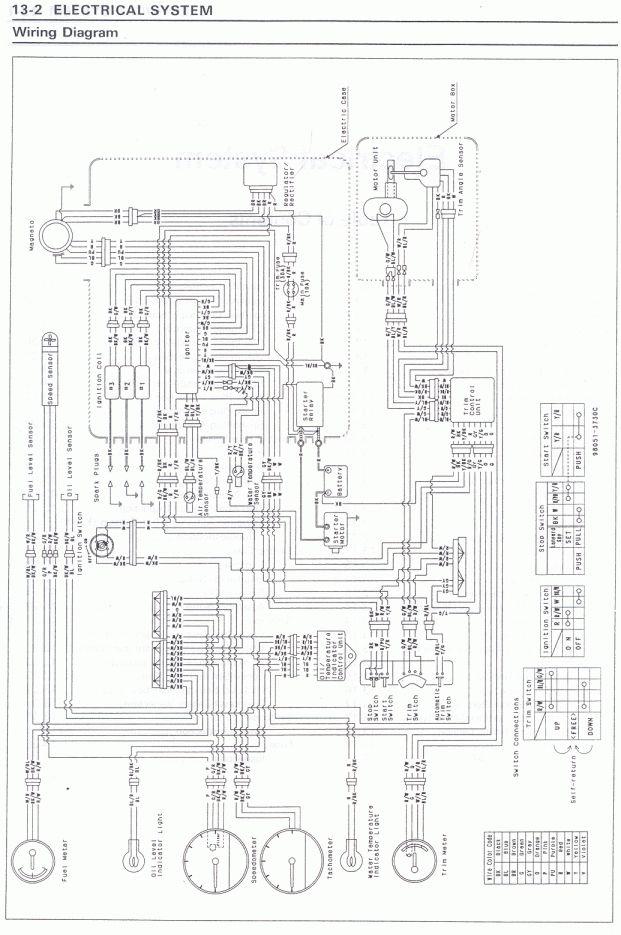 15+ Kawasaki 900 Triple Jetski Engine Wiring Diagram
