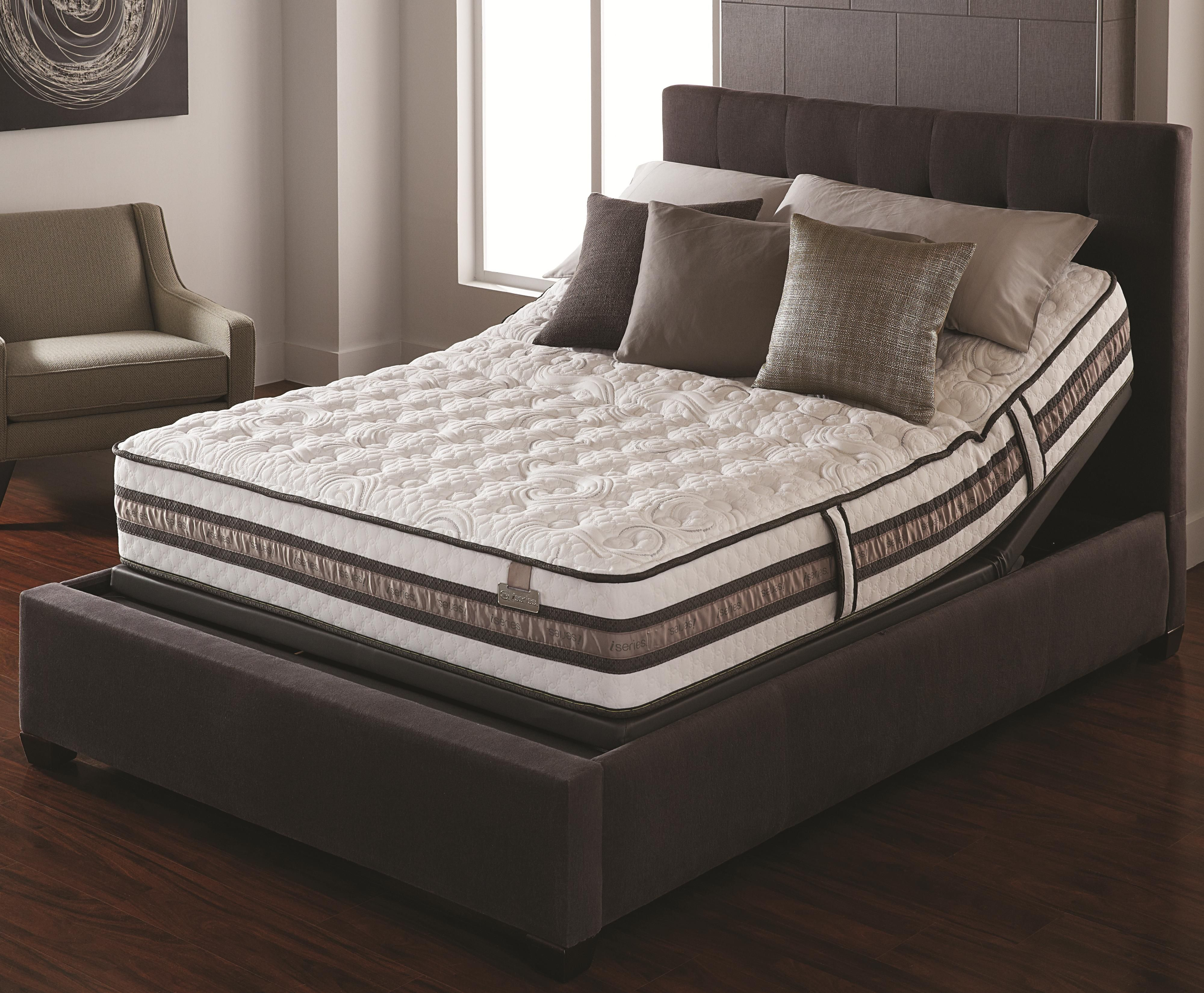 iseries expression queen firm mattress set by serta bedding