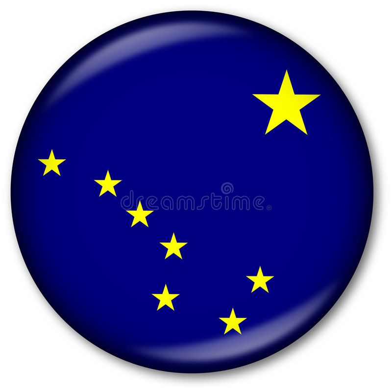 Alaska State Flag Button Button With Alaska State Flag Affiliate Flag State Alaska State Button Ad Flag State Flags Art Sketches