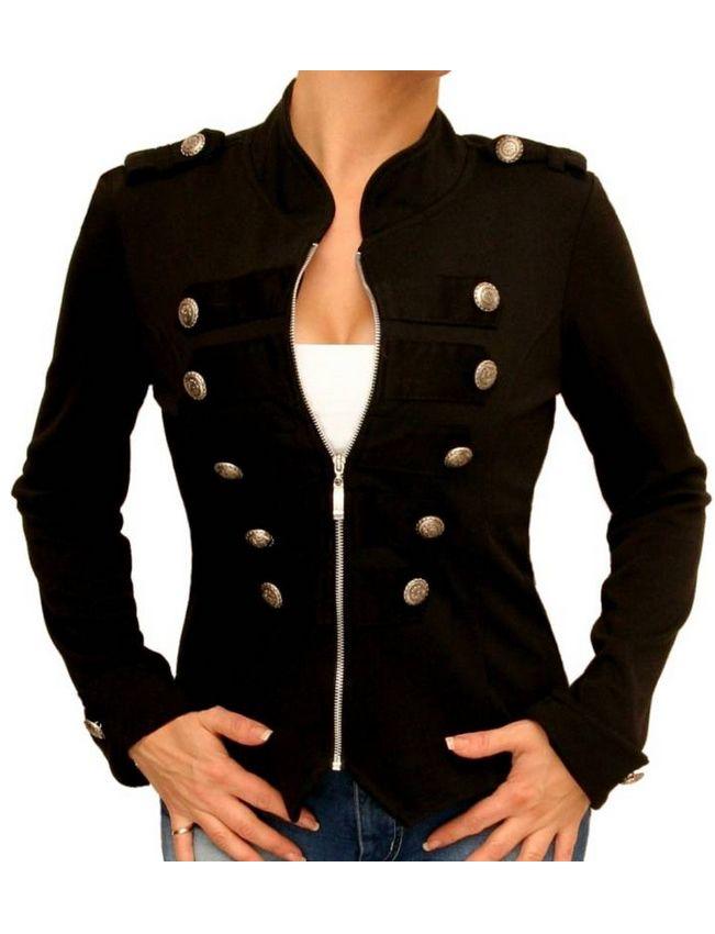 Veste courte officier femme