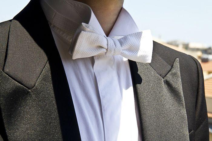 white tie wedding attire