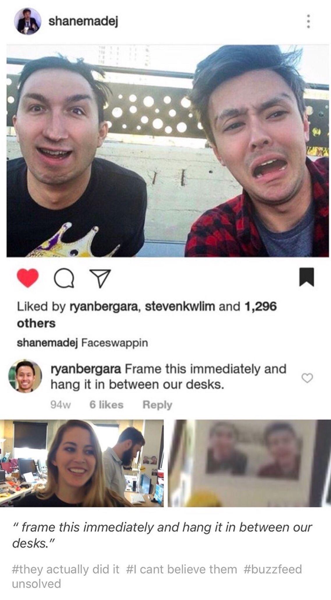 Ryan Bergara and Shane Madej Buzzfeed, Tumblr stuff