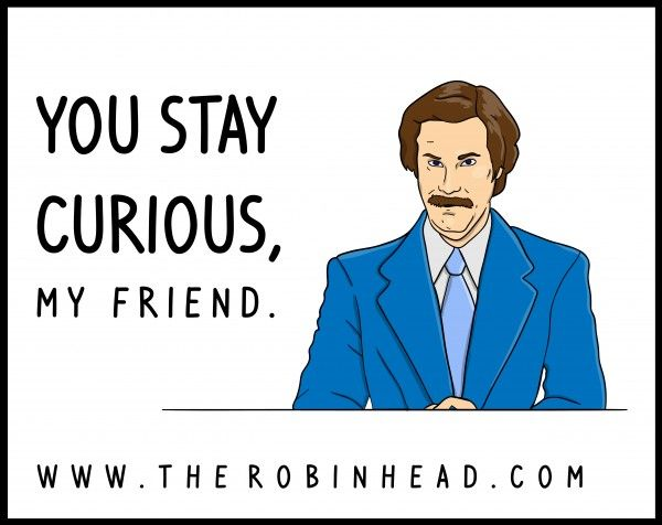 Stay Curious...