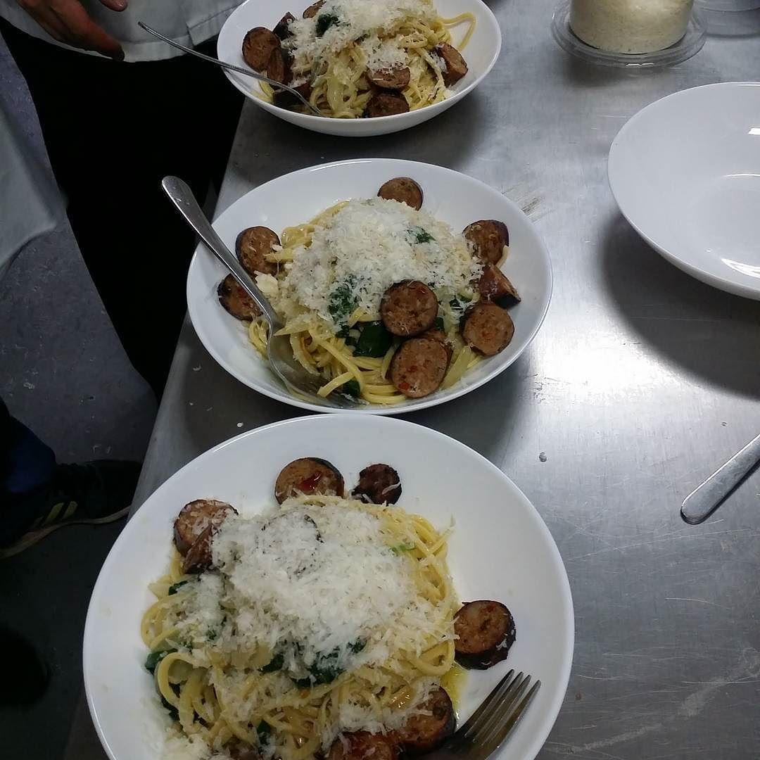 My boy @pastificio_double_zero makes a sicckkkk staff lunch.  #torontofood #tastetoronto #theartofplating #torontocatering #blogTO #instafood #foodTO #toronto  #foodpornTO #torontoeats #gastropost #Tofoodies #eatfamous #TO_Finest #chefsofinstagram #grapevinecatering by grapevineto
