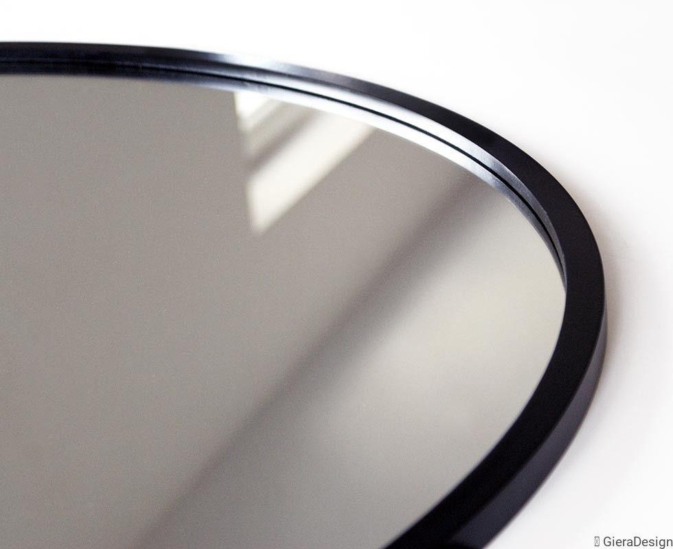 Lustro Scandi Okragle W Czarnej Ramie Mirror Decor Home Decor