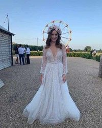 Photo of 30 of the most beautiful celebrity wedding dresses of 2019