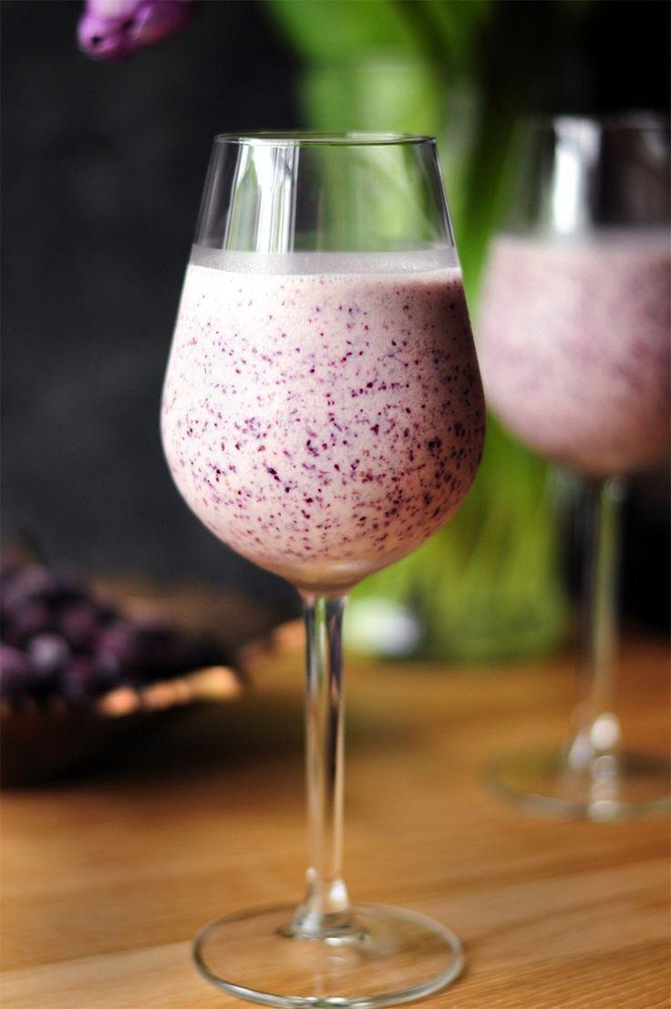 Blueberry cream wine slush recipe slushie recipe wine