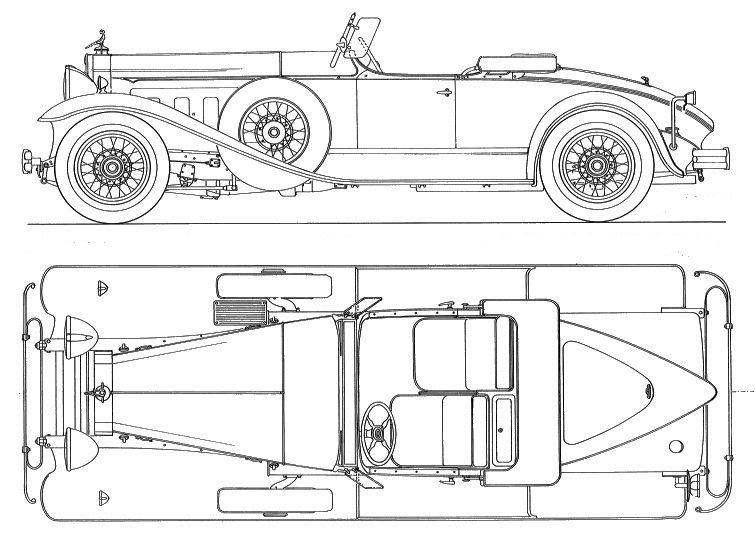 Packard 7-34 Speedster (1930) | SMCars.Net - Car Blueprints Forum ...