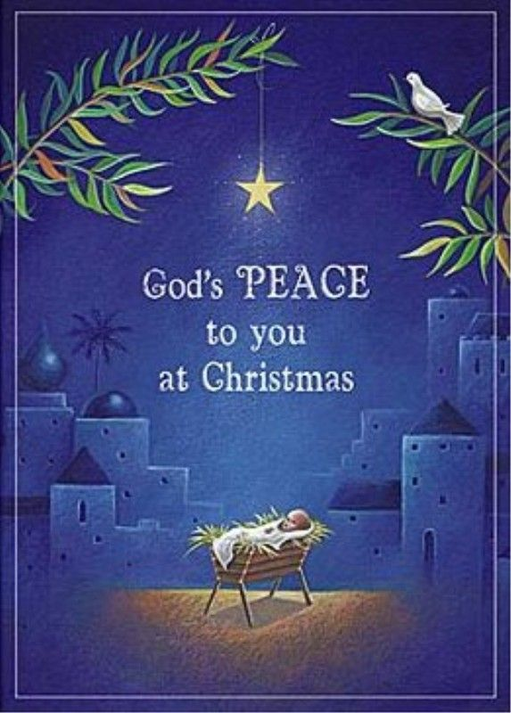 Catholic Christmas Cards Peace Abbey Press 5335 4t Blue With Manger Pkg Of 25 Christmas Car Catholic Christmas Cards Catholic Christmas Christmas Books