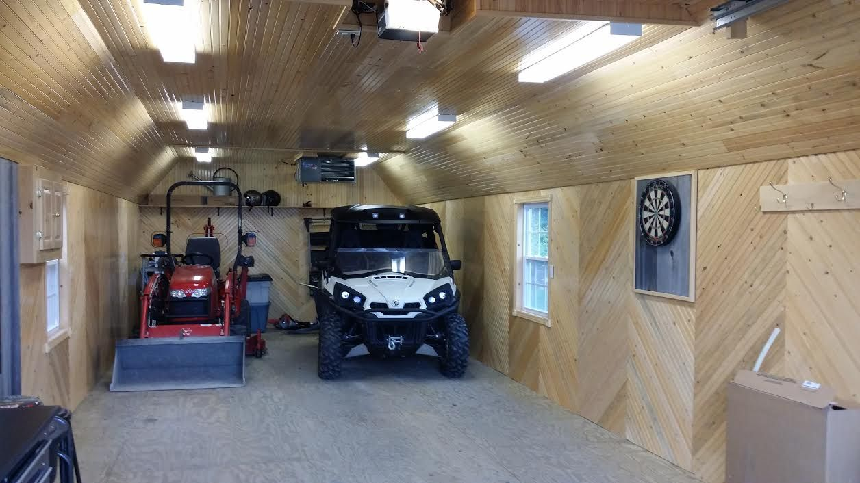 Man Cave Store Ontario : Portable garage delivered fully assembled and