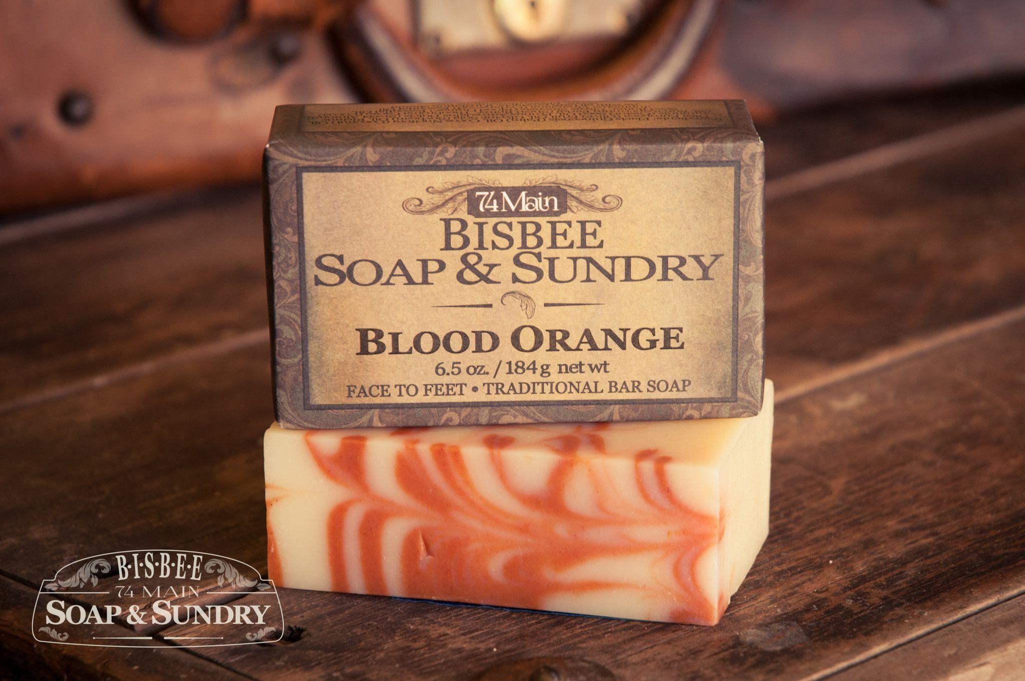Blood Orange Soap - 6.5 oz