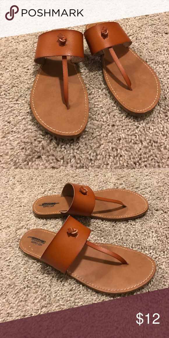 2fa7151bd Mossimo Sandals Tan mossimo sandals from target. Worn once