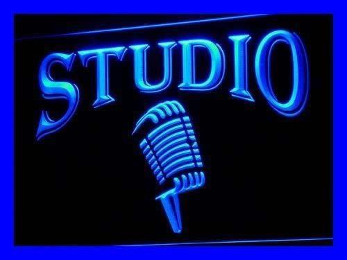 Microphone Bar Air Led Neon Light Sign Studio Decor Sport Gift Advertise New