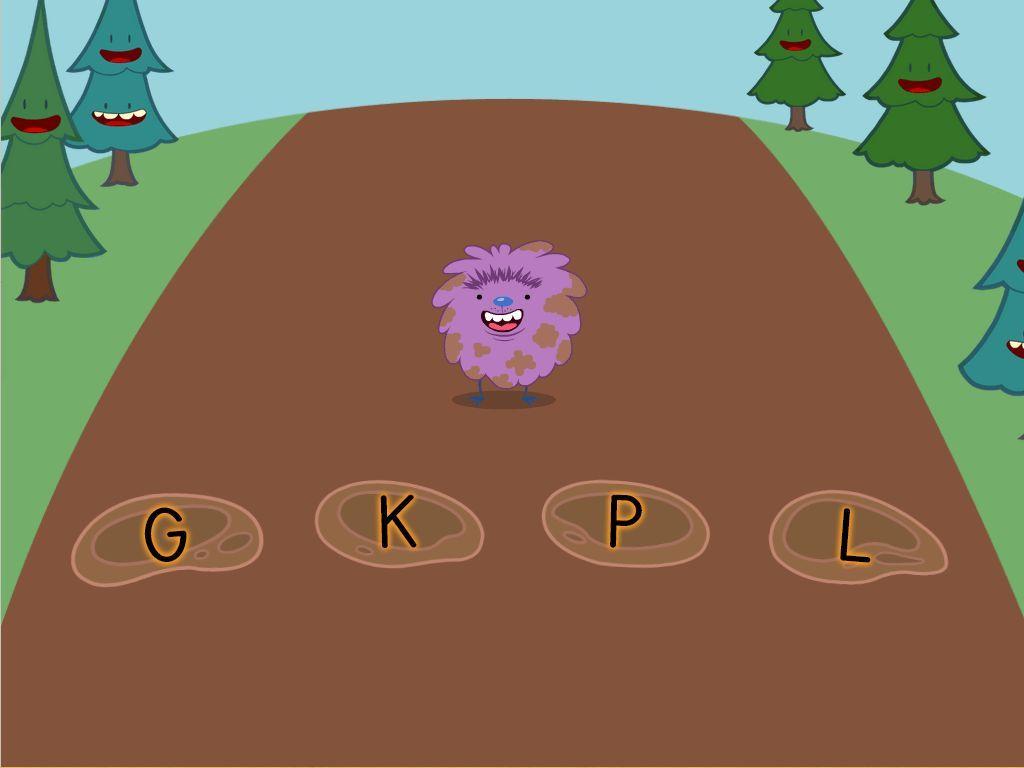 Alphabet Mud Puddles