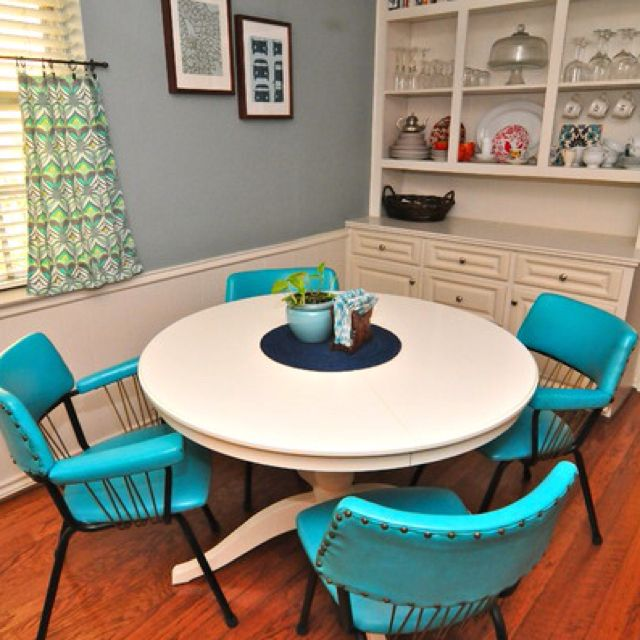 Funky Vintage Chairs In Small Dining Room  Minimalista Endearing Funky Dining Room Inspiration Design