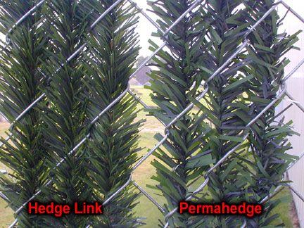 Hedge Link vs Permahedge Slats