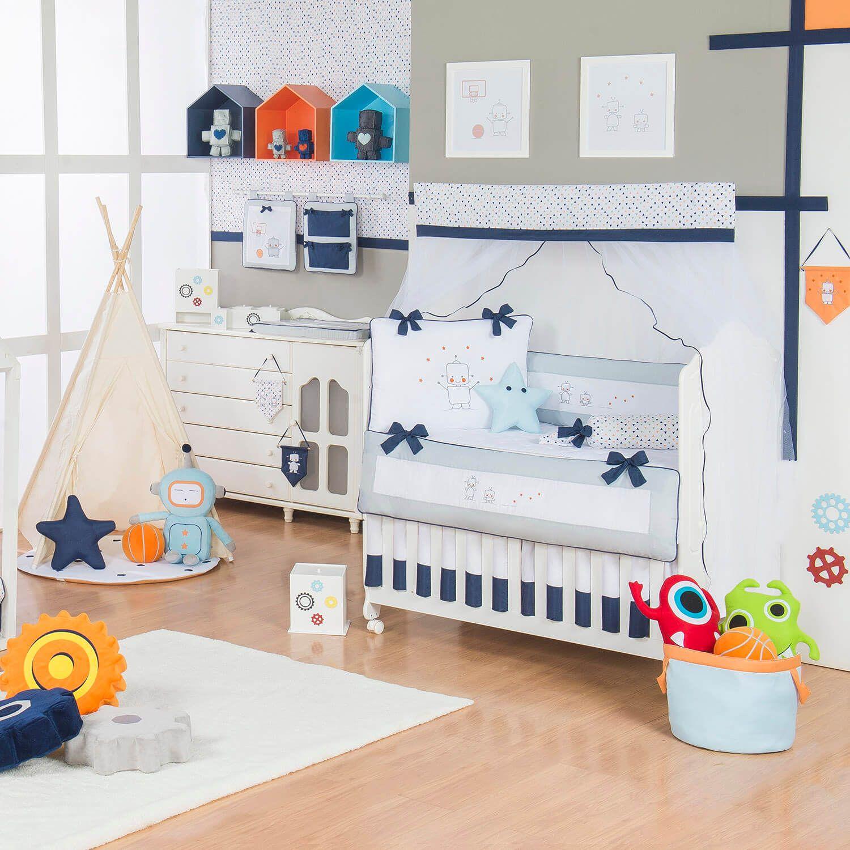 O Quarto De Beb Rob Incr Vel Essa Decora O De Quarto De Beb  ~ Quarto Bebe Masculino Azul Marinho