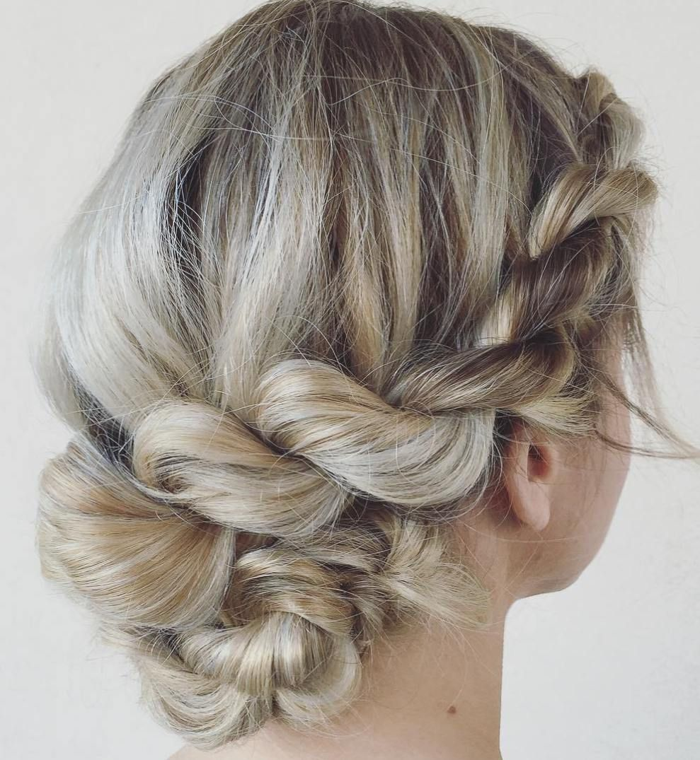 Easy Updo Hairstyles Prepossessing Quick Updos  30 Ways To Style Your Hair Fast And Easy  Medium Hair