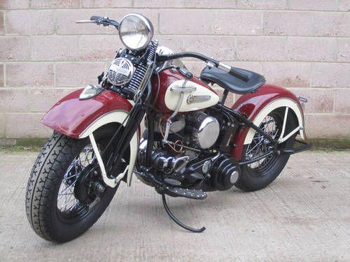 Harley Davidson Wl 1950 Motos Retro Motos Clasicas Motos Harley