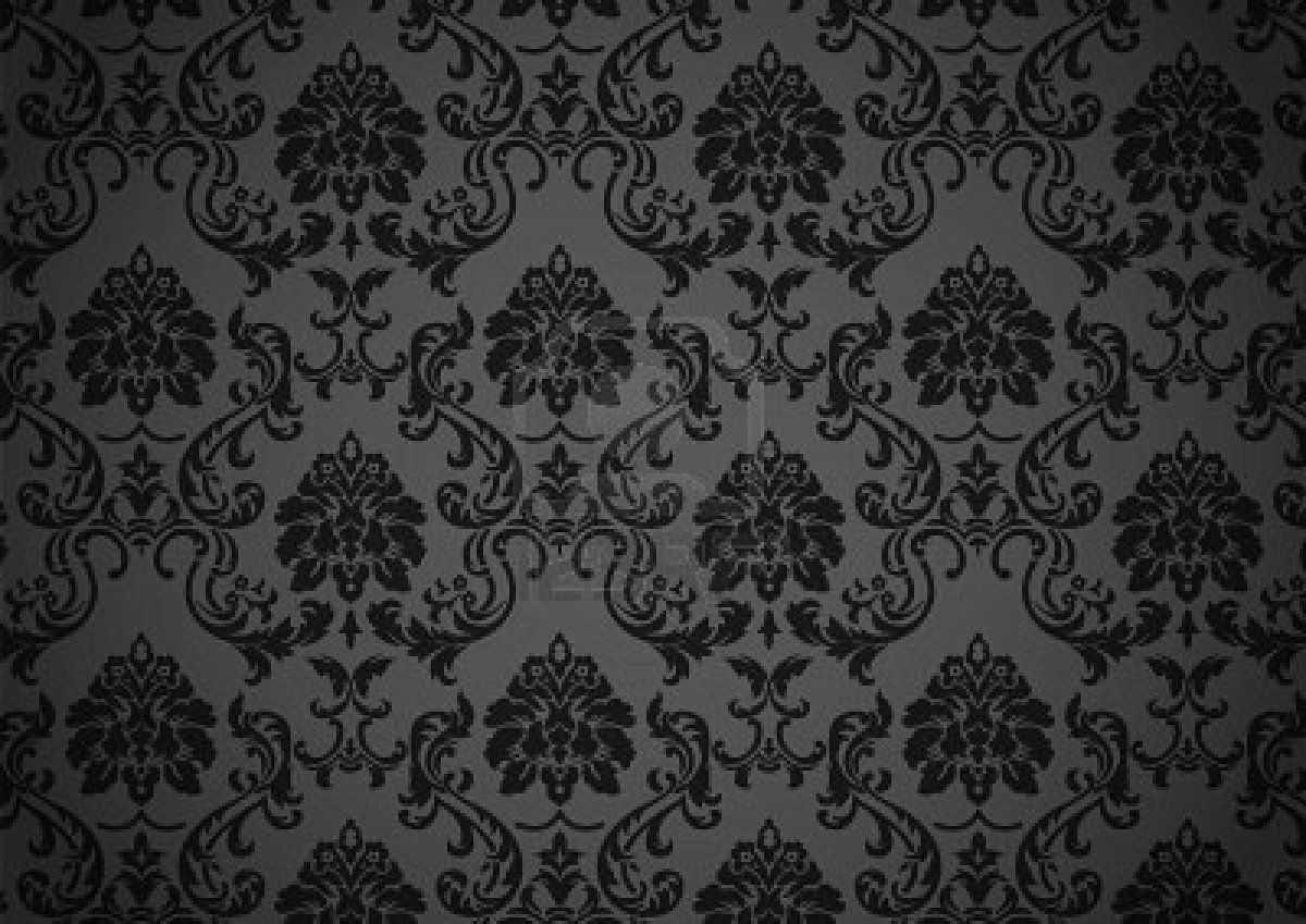 Dark Baroque Wallpaper Royalty Free Cliparts Vectors And Stock Design 1200x849 Pixel