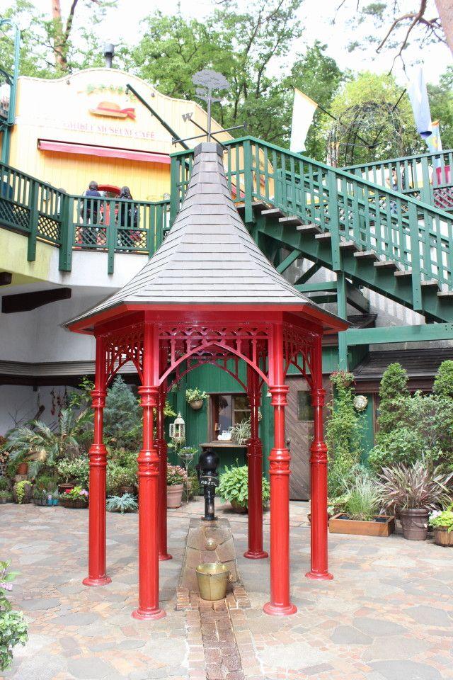 三鷹の森ジブリ美術館 パティオ 三鷹の森ジブリ美術館 ジブリ美術館 美術館