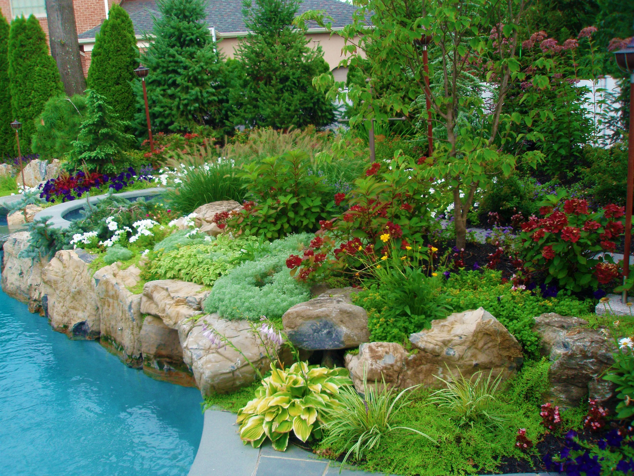All of our work is completed by Design and Build landscape employees from Landscape design and masonry work, to Outdoor lighting. Description from landscapedesignlongisland.info. I searched for this on bing.com/images