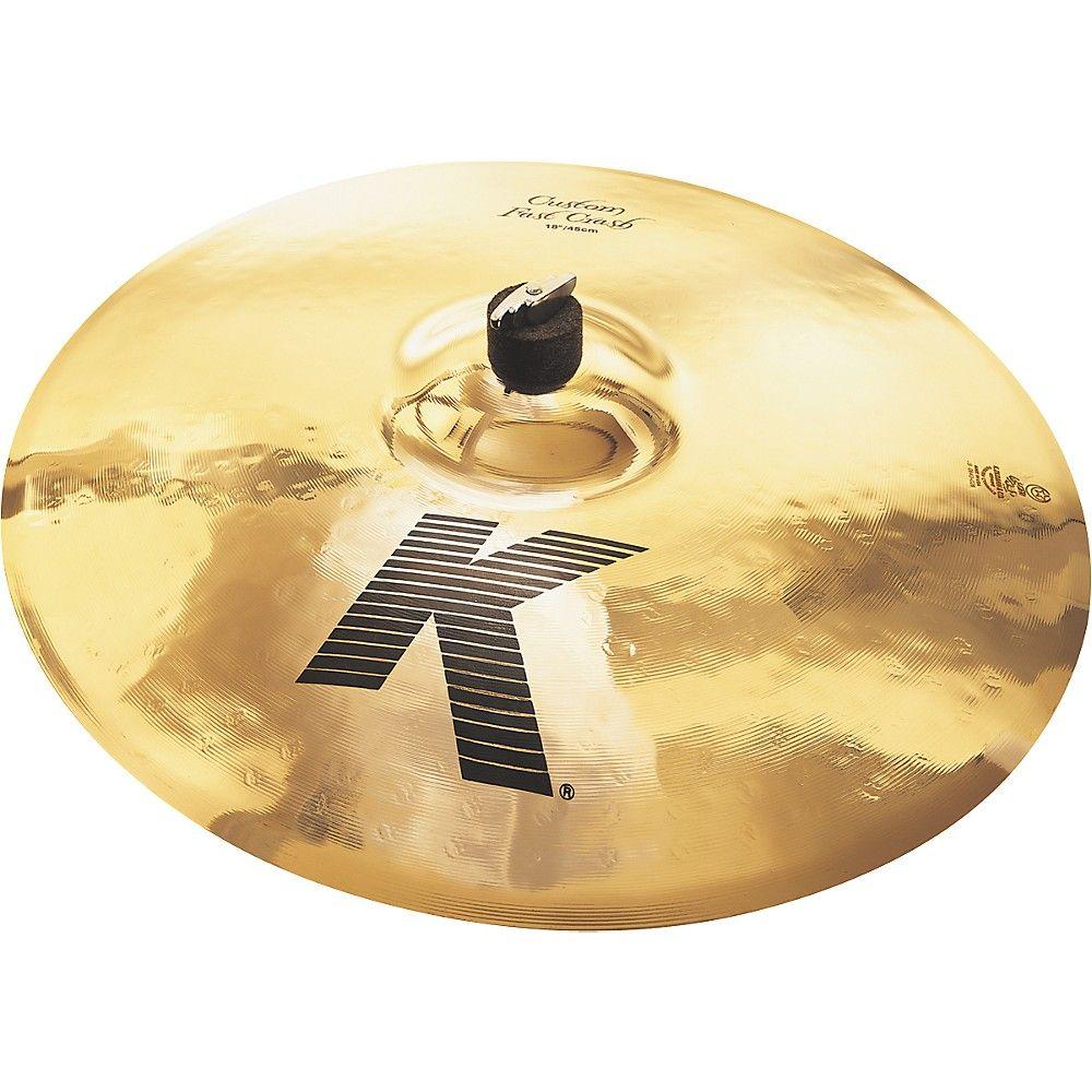 Zildjian K Custom Fast Crash Cymbal  18 in.