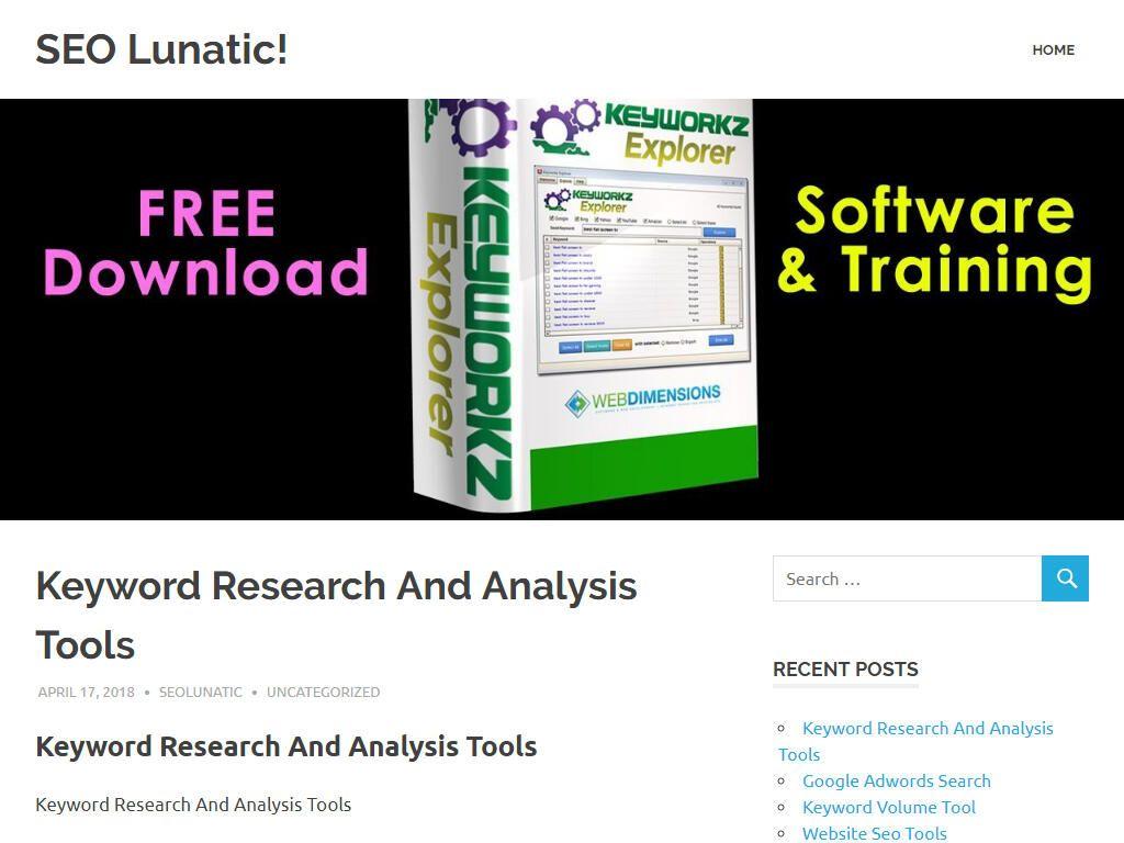 Keyword Research And Analysis Tools Seo keywords, Free