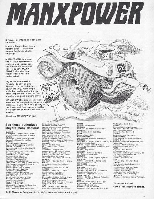 Manx power add | Meyers Manx Dune Buggies | Manx dune buggy, Beach