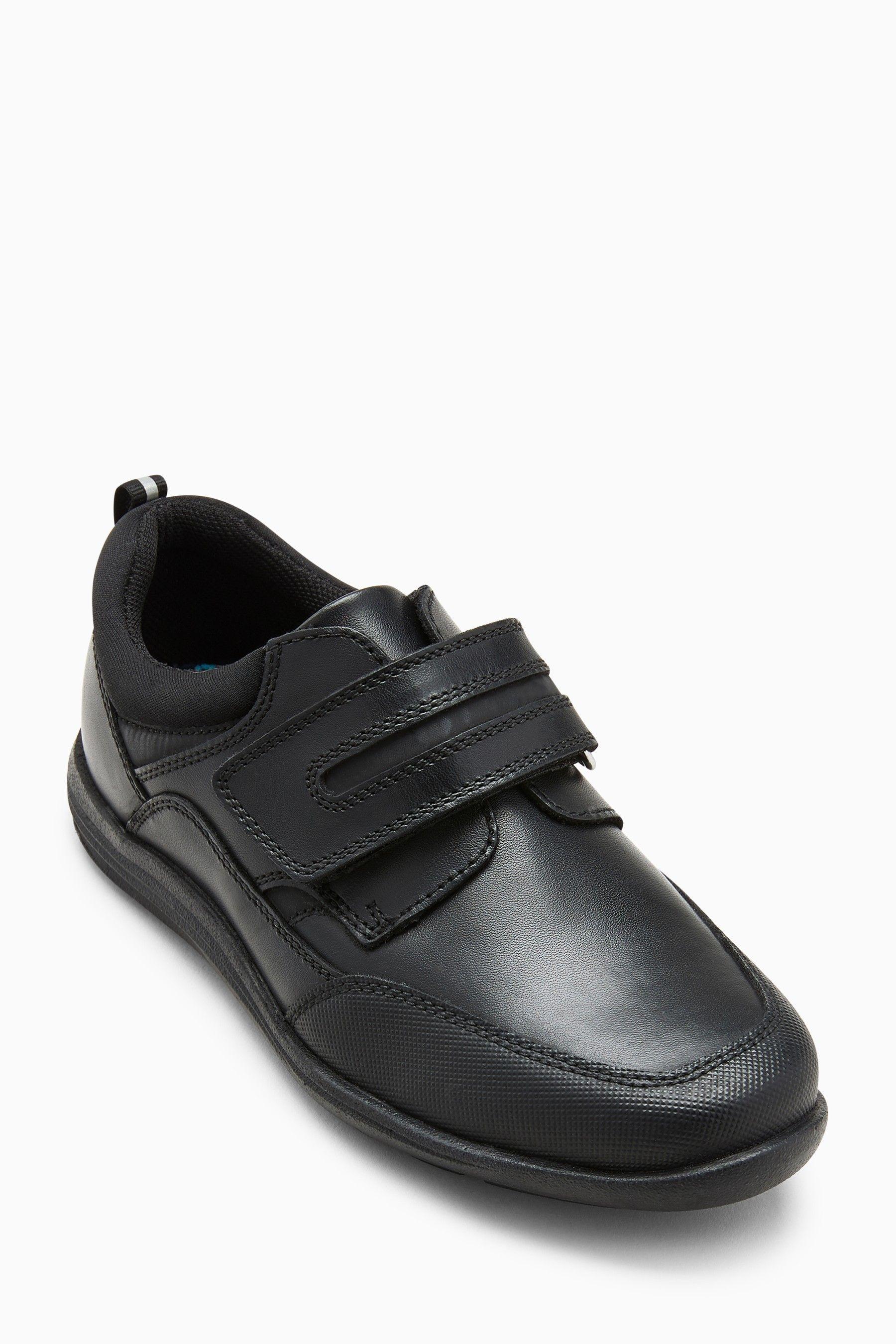 Boys Next Black Single Strap Leather
