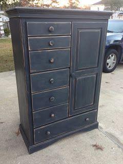 Annie Sloan In 2019 Painted Furniture Black