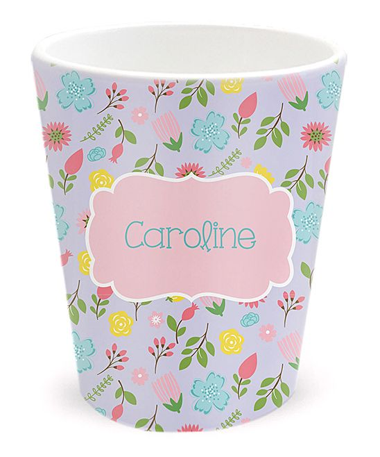 Spring Flowers Personalized Tumbler