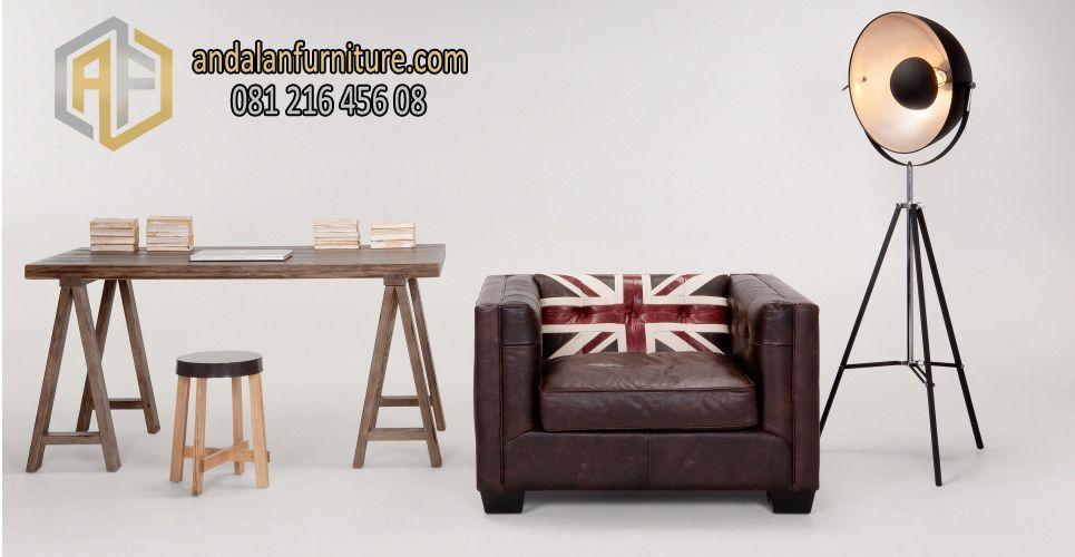 Sofa Minimalis British Vintage Furniture Adalah Produk