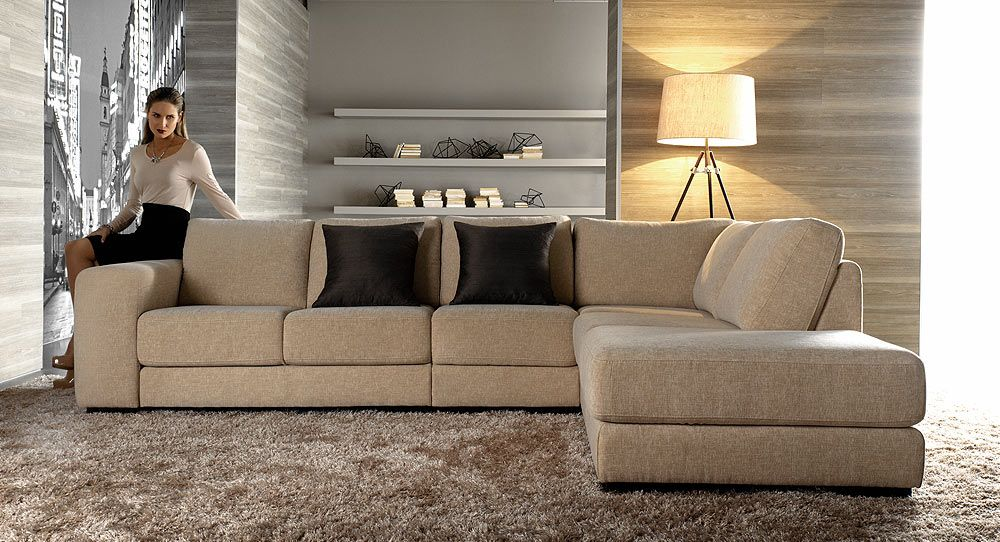 Chicago modular lounge with chaise rumpus room couch for Chaise lounge chicago
