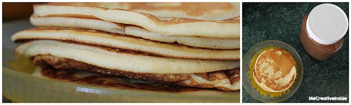 mecreativeiside ME creativeinside pancakes ricetta ingrediente segreto come fare tutorial