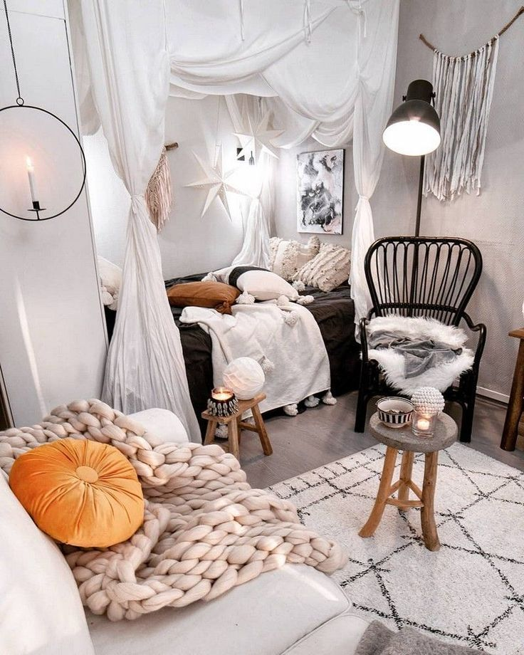 Photo of Bøhmisk soverom dekor og senger design ideer #modernbohemianbedrooms Böh …