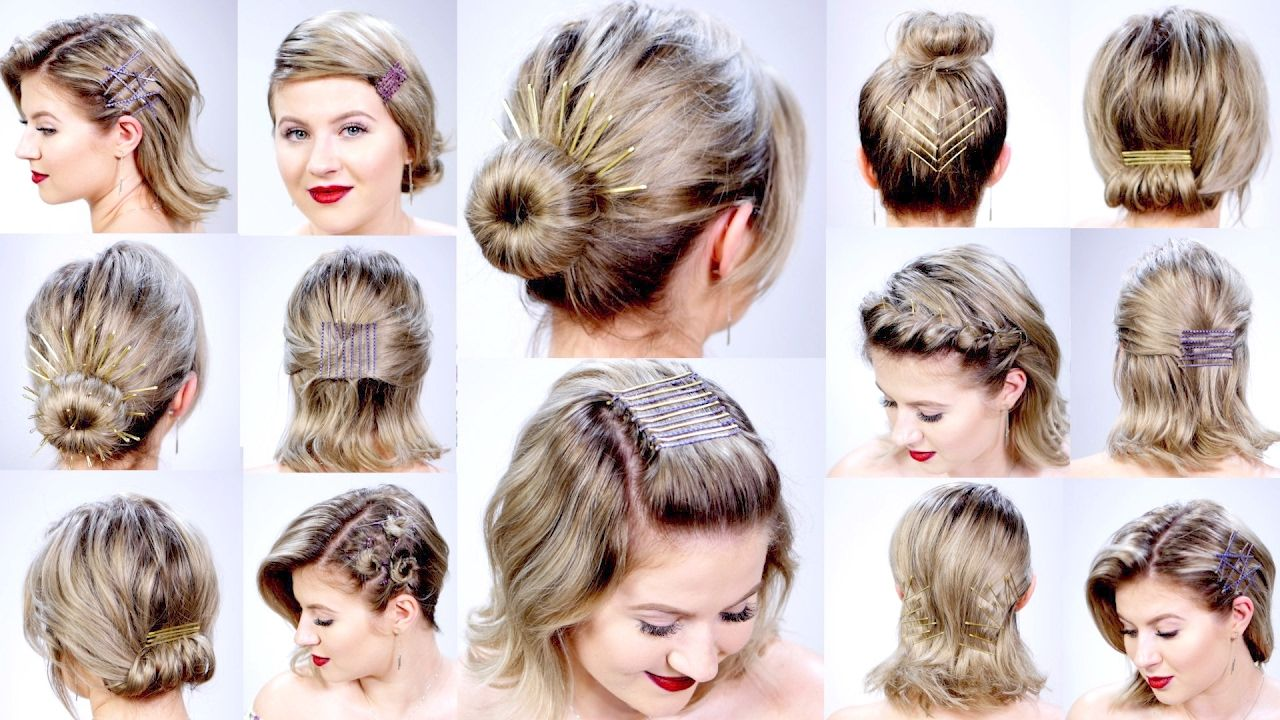 Easy N Simple Hairstyles For Short Hair Hairstyles Hairstylesforshorthair Short Simple Short Hair Styles Easy Easy Hairstyles Medium Hair Styles