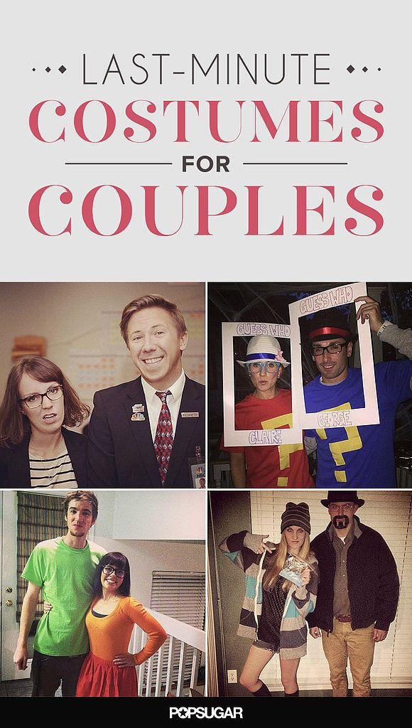 Simple And Cheap Living Room Decoration: 50 Last-Minute Couples Costumes That Require Little To No