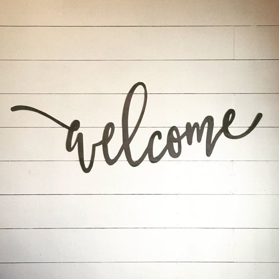 welcome 43 x 15 metal word sign gallery wall gotta get in 2018 rh pinterest com storeroom isle of wight store room in italiano