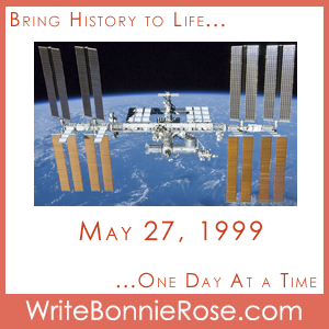 Timeline Worksheet: May 27, 1999, Canadian Astronaut Julie Payette ...