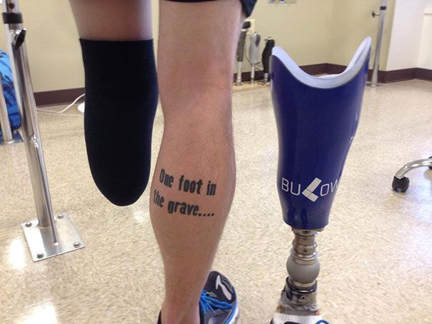 15 Amputees With A Brilliant Sense Of Humor Prosthetic Leg