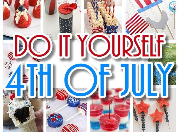 Do it yourself 4th of july the best diy patriotic red white and do it yourself 4th of july the best diy patriotic red white and blue holiday party planning ideas solutioingenieria Images