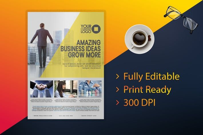 flyer business flyer print ready business professional download here http