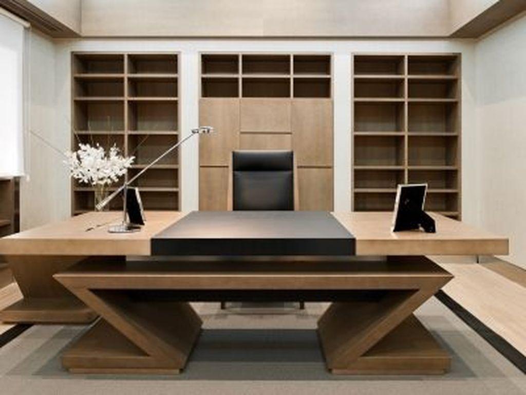 Nice 36 The Best Modern Office Design Ideas Office Table Design Office Furniture Modern Office Furniture Design