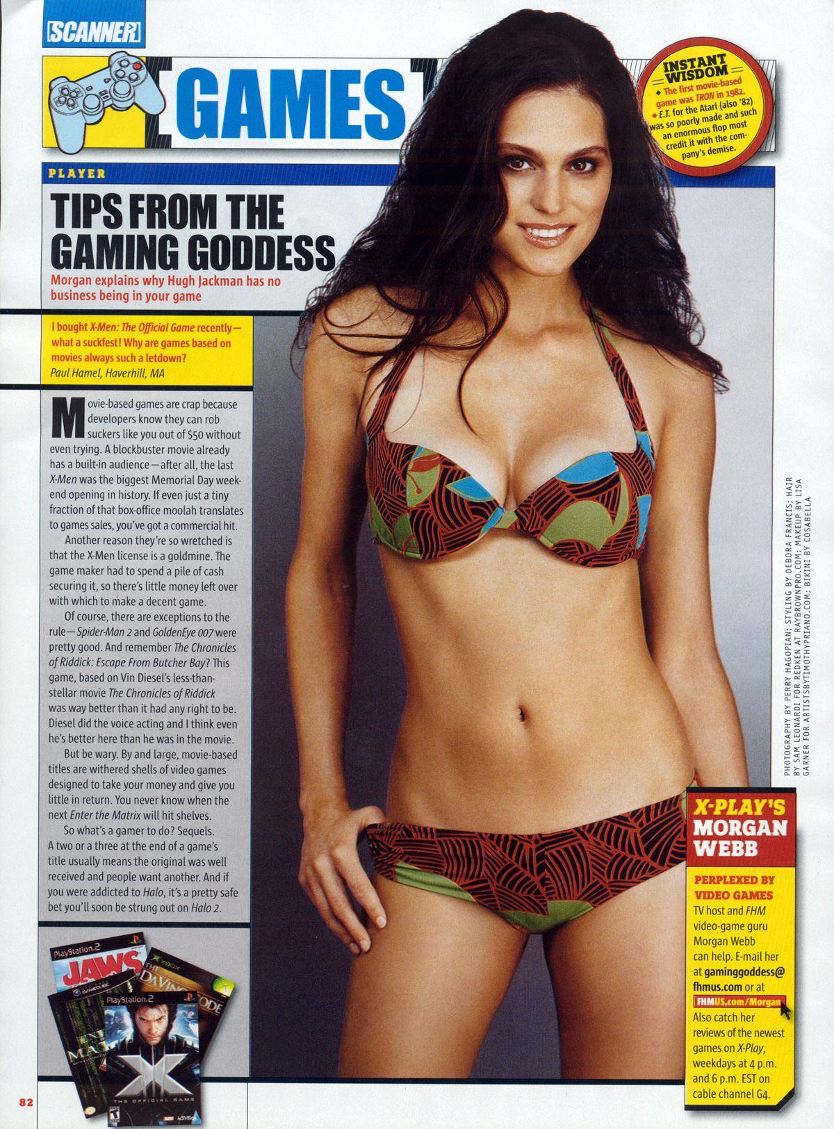 Morgan webb bikini