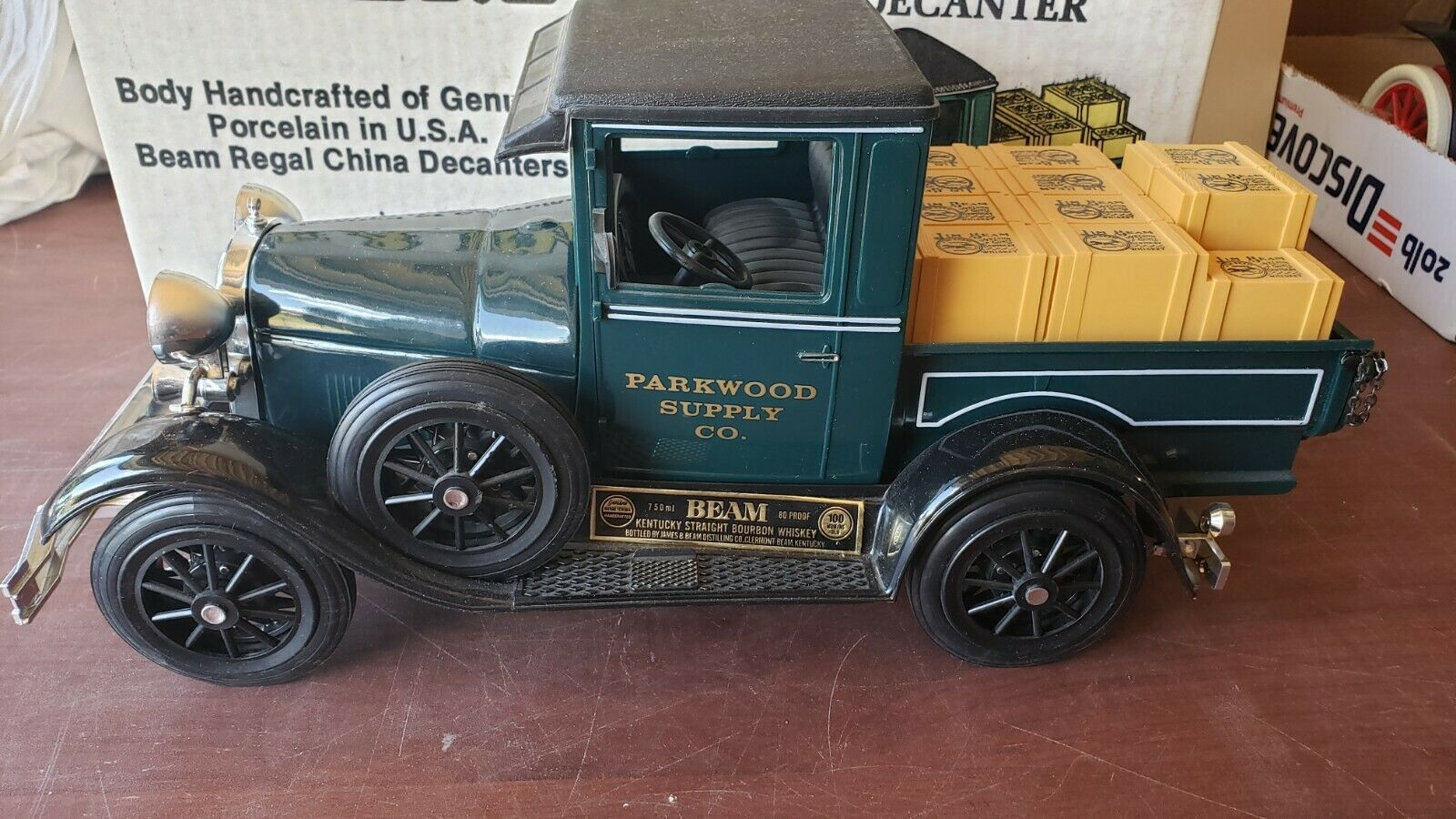 Vintage Jim Beam 1928 29 Model A Ford Pickup Truck Decanter