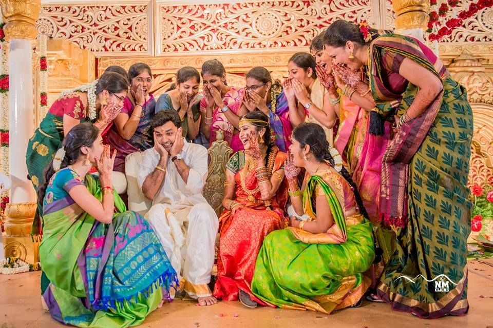 15 Awesome Shots Couples Friends Should Have With The Couple Wedding Picture Poses Indian Wedding Photography Poses Funny Wedding Poses If you miss classic silk saree designs, check this out! funny wedding poses