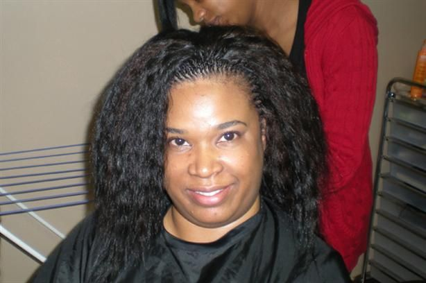 Extra Small Tree Braids With Human Wet And Wavy Hair Tree Braids