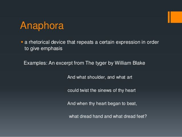 examples of anaphora with images to share