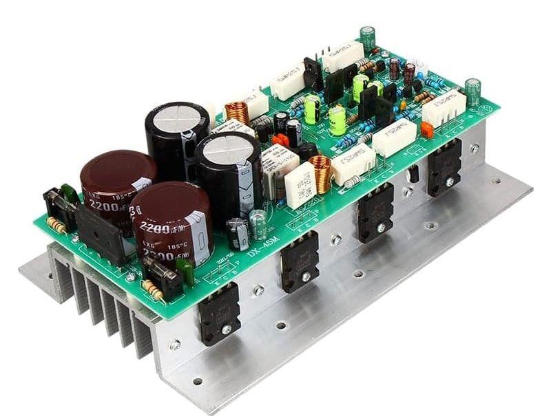 500 Watts Transistor Amplifier Circuit Diagram In 2020